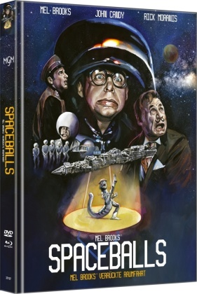 Spaceballs (1987) (Cover A, Limited Edition, Mediabook, Blu-ray + DVD)