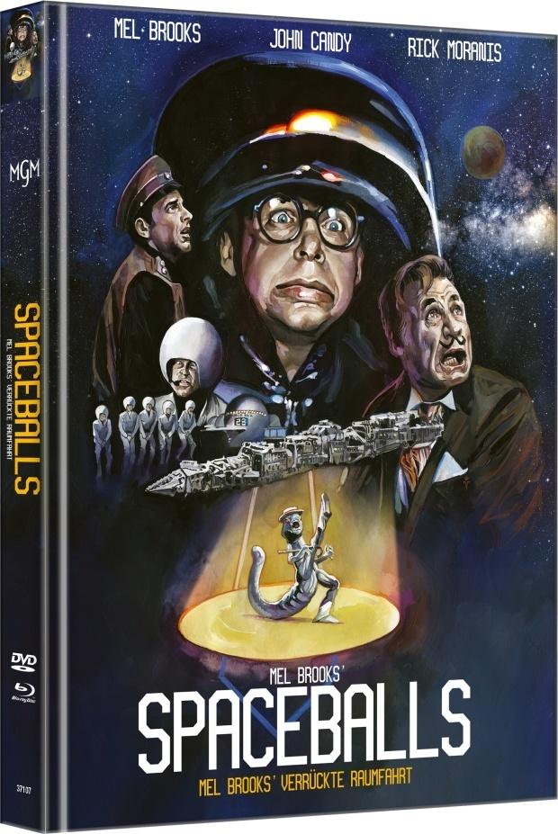 Spaceballs (1987) (Cover A, Edizione Limitata, Mediabook, Blu-ray + DVD)