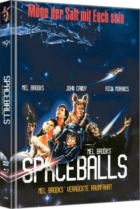 Spaceballs (1987) (Cover B, Limited Edition, Mediabook, Blu-ray + DVD)