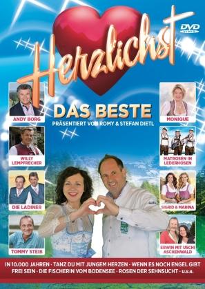 Various Artist - Herzlichst - Das Beste präsentiert von Romy & Stef