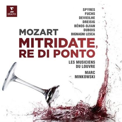 Michael Spyres, Elsa Dreisig, Sabine Devieilhe & Wolfgang Amadeus Mozart (1756-1791) - Mitridate, Re di Ponto (3 CDs)