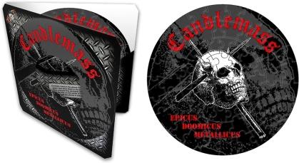 """Candlemass - Epicus Doomicus Metallicus (7"""" 72 Piece Jigsaw Puzzle)"""