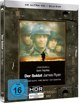 Der Soldat James Ryan (1998) (Limited Edition, Steelbook, 4K Ultra HD + Blu-ray)