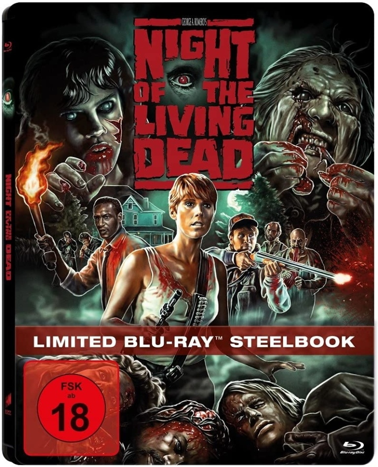 Night of the Living Dead (1990) (Limited Edition, Steelbook)