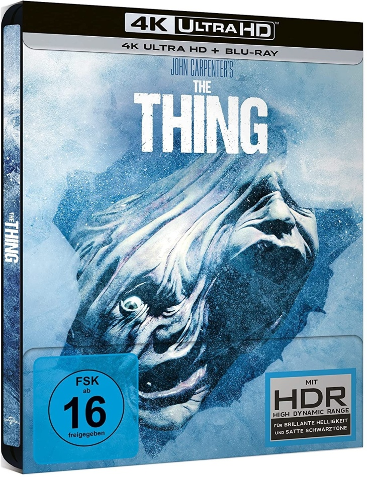 The Thing (1982) (Limited Edition, Steelbook, 4K Ultra HD + Blu-ray)