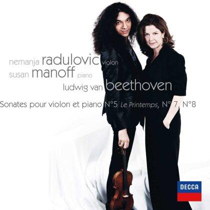 Ludwig van Beethoven (1770-1827), Nemanja Radulovic & Susan Manoff - Sonatas For Violin And Piano - N. 5 The Spring.7 & 8