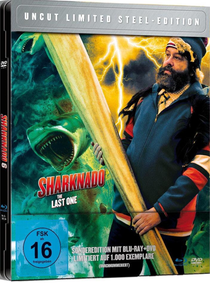 Sharknado 6 - The Last One (2018) (Edizione Limitata, Steelbook, Uncut, Blu-ray + DVD)