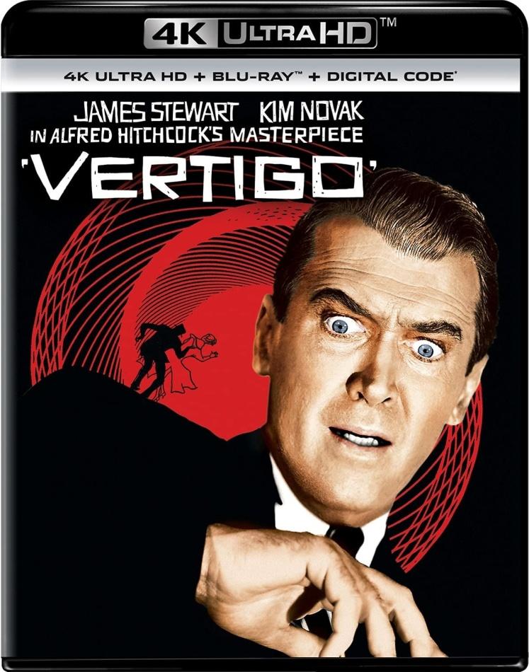 Vertigo (1958) (4K Ultra HD + Blu-ray)