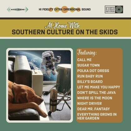 Southern Culture On The Skids - At Home With Southern Culture On The Skids (LP)