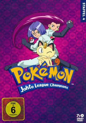 Pokémon - Staffel 4: Die Johto Liga Champions (7 DVDs)