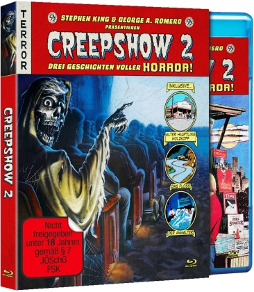 Creepshow 2 (1987) (Schuber, Limited Deluxe Edition, Uncut)