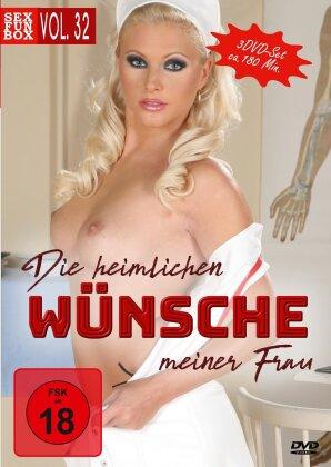Die heimlichen Wünsche meiner Frau - Sex & Fun-Box Vol. 32 (3 DVDs)