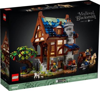 Lego Ideas mittelalterliche Schmiede<br>Bausatz (21325)