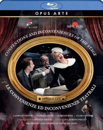 Orchestra And Chorus Of The Opera De Lyon, Lorenzo Viotti, … - Le Convenienze Ed Incovenienze Teatrali (Opus Arte)