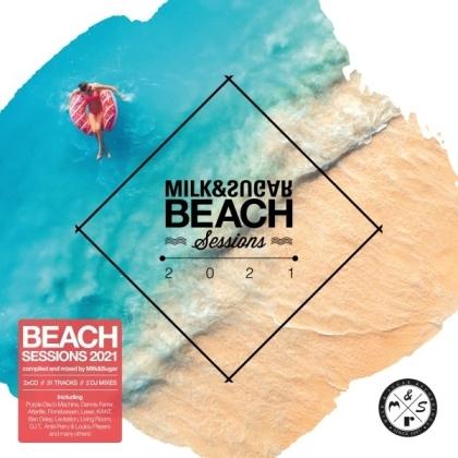 Milk & Sugar - Beach Sessions 2021 By Milk & Sugar (2 CD)