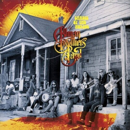 The Allman Brothers Band - Shades Of Two Worlds (Gatefold, Friday Music, 2021 Reissue, Limited Edition, Orange Vinyl, LP)