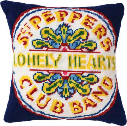 Beatles - Beatles - Tapestry Cushion (Sergeant Pepper's Lone