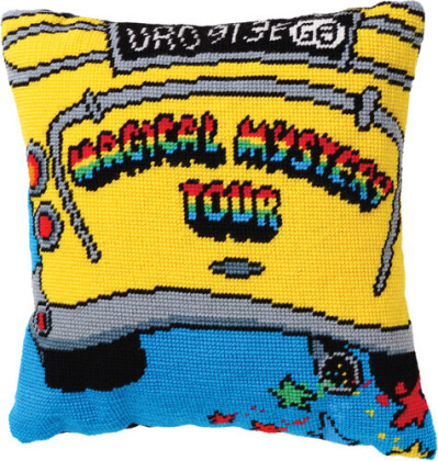 Beatles - Beatles - Tapestry Cushion (Magical Mystery Tour B