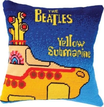Beatles - Beatles - Tapestry Cushion (Yellow Submarine)