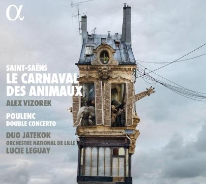 Duo Jatekok, Camille Saint-Saëns (1835-1921), Lucie Leguay, Alex Vizorek & Orchestre National de Lille - Le carnaval des animaux