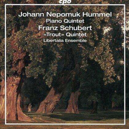 Libertalia Ensemble, Johann Nepomuk Hummel (1778-1837) & Franz Schubert (1797-1828) - Piano Quintet, Trout Quartet