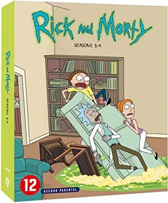 Rick and Morty - Saisons 1-4 (8 DVD)