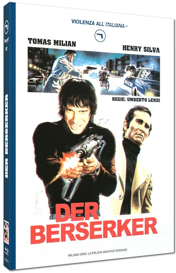 Der Berserker (1974) (Cover A, Violenza All'Italiana Collection, Limited Edition, Mediabook)