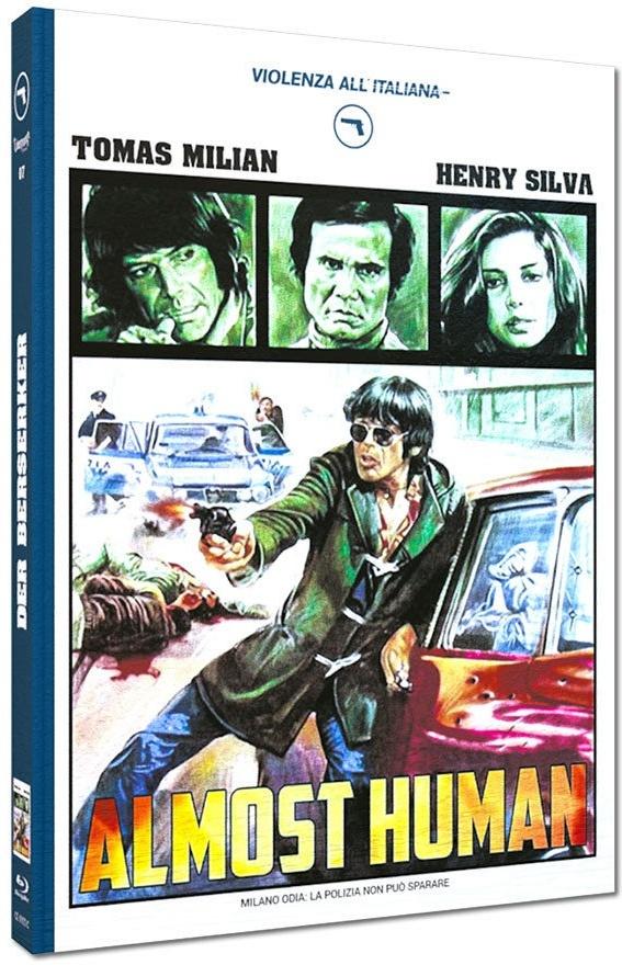 Der Berserker - Almost Human (1974) (Cover C, Violenza All'Italiana Collection, Edizione Limitata, Mediabook)