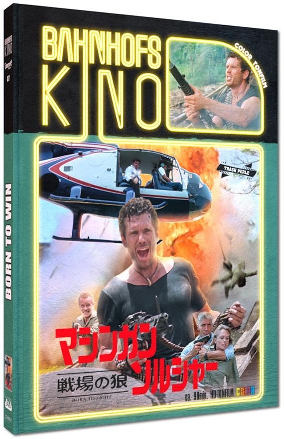 Born to win (1989) (Cover C, Edizione Limitata, Mediabook, Blu-ray + DVD)