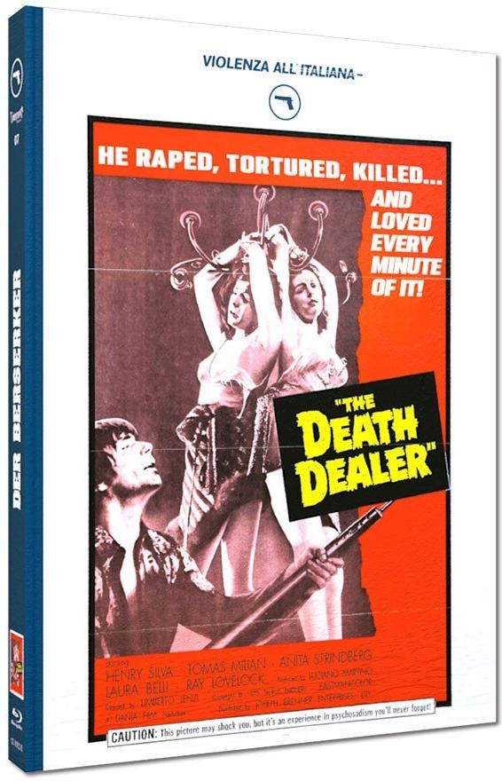 Der Berserker - The Death Dealer (1974) (Cover D, Violenza All'Italiana Collection, Edizione Limitata, Mediabook)