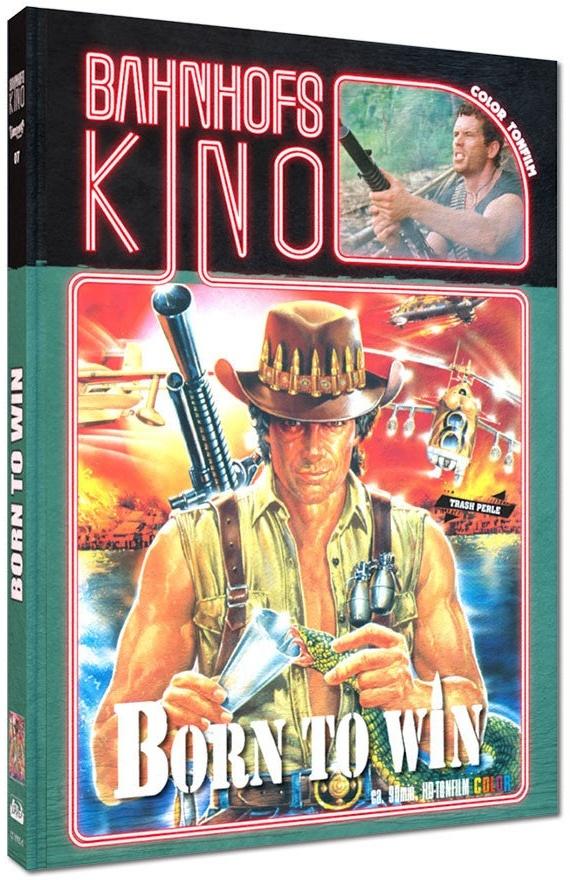Born to win (1989) (Cover A, Bahnhofskino, Edizione Limitata, Mediabook, Blu-ray + DVD)