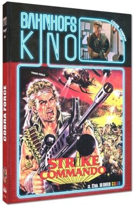 Cobra Force - Strike Commando (1986) (Cover B, Bahnhofskino, Limited Edition, Mediabook, Blu-ray + DVD)