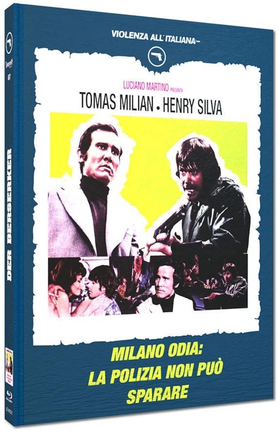 Der Berserker - Milano odia: la polizia non può sparare (1974) (Cover E, Violenza All'Italiana Collection, Limited Edition, Mediabook)