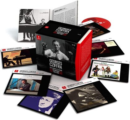 Georges Cziffra - The Complete Studio Recordings (41 CDs)