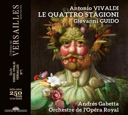 Antonio Vivaldi (1678-1741), Giovanni Guido, Andrés Gabetta & Orchestre de l'Opera Royal - Le Quattro Stagioni (CD + DVD)