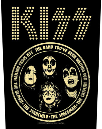 Kiss - Hailing From Nyc (Backpatch)