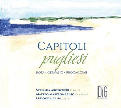 Mastromarino, Nino Rota (1911-1979), Gervasio, Nicola Procaccini, Matteo Mastromarino, … - Capitoli Pugliesi
