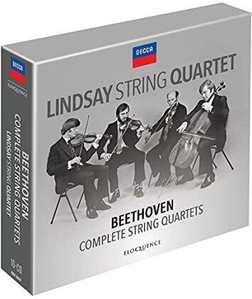 Lindsay String Quartet & Ludwig van Beethoven (1770-1827) - Complete String Quartets (Eloquence Australia, 8 CDs)