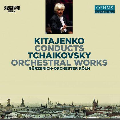 Peter Iljitsch Tschaikowsky (1840-1893), Dmitrij Kitajenko & Gürzenich-Orchester Köln - Orchestral Works (2 CDs)