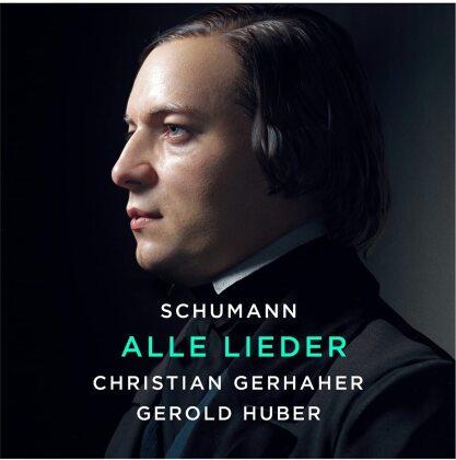 Robert Schumann (1810-1856), Christian Gerhaher & Gerold Huber - Alle Lieder (11 CDs)