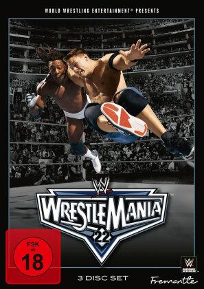 WWE: Wrestlemania 22 (3 DVDs)