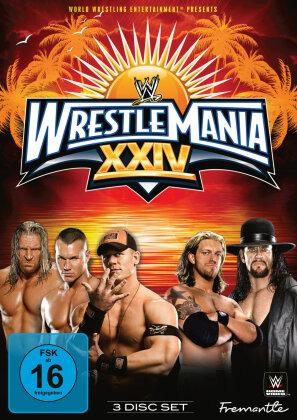 WWE: Wrestlemania 24 (3 DVDs)