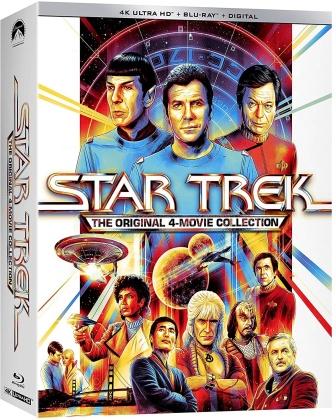 Star Trek 1-4 - The Original 4-Movie Collection (4 4K Ultra HDs + 4 Blu-rays)