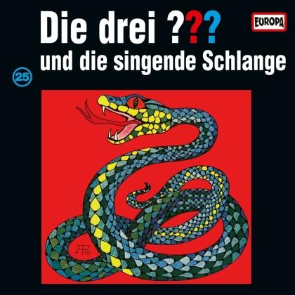 Die Drei ??? - 025 Und Die Singende Schlange (2021 Reissue, LP)