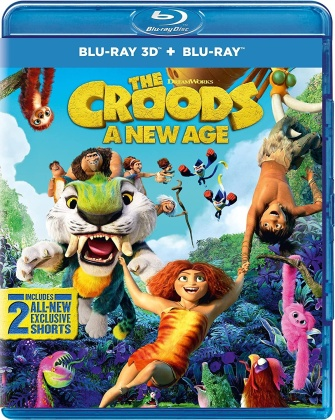 The Croods 2 - A New Age (2020) (Blu-ray 3D + Blu-ray)
