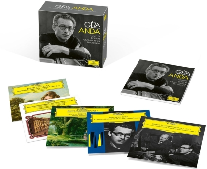 Geza Anda - Complete Edition (Limited Edition, 17 CDs)
