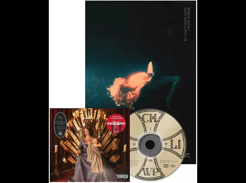 Halsey - If I Can't Have Love, I Want Power (Exklusiv CeDe.ch, Softpak, 1 Bonustrack)