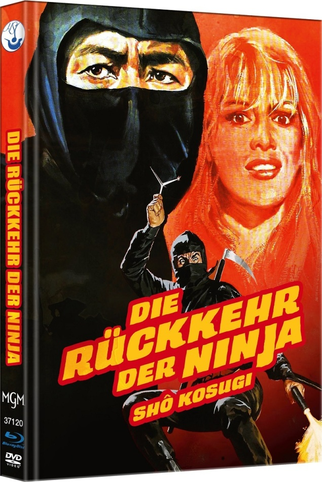 Die Rückkehr der Ninja - Ninja 2 (1983) (Cover B, Limited Edition, Mediabook, Blu-ray + DVD)