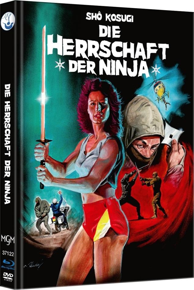 Die Herrschaft der Ninja - Ninja 3 (1984) (Cover A, Edizione Limitata, Mediabook, Blu-ray + DVD)