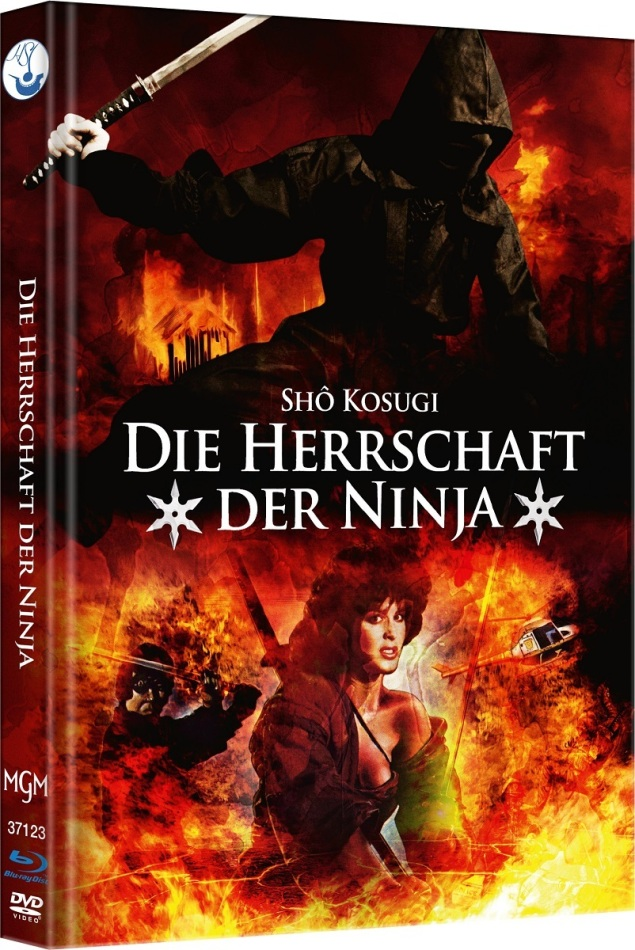 Die Herrschaft der Ninja - Ninja 3 (1984) (Cover B, Edizione Limitata, Mediabook, Blu-ray + DVD)